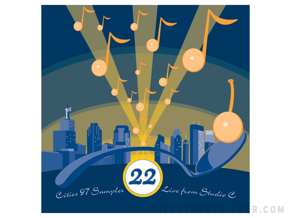 Cities 97 Vol. 22 Package Cover (Unpublished Concept).