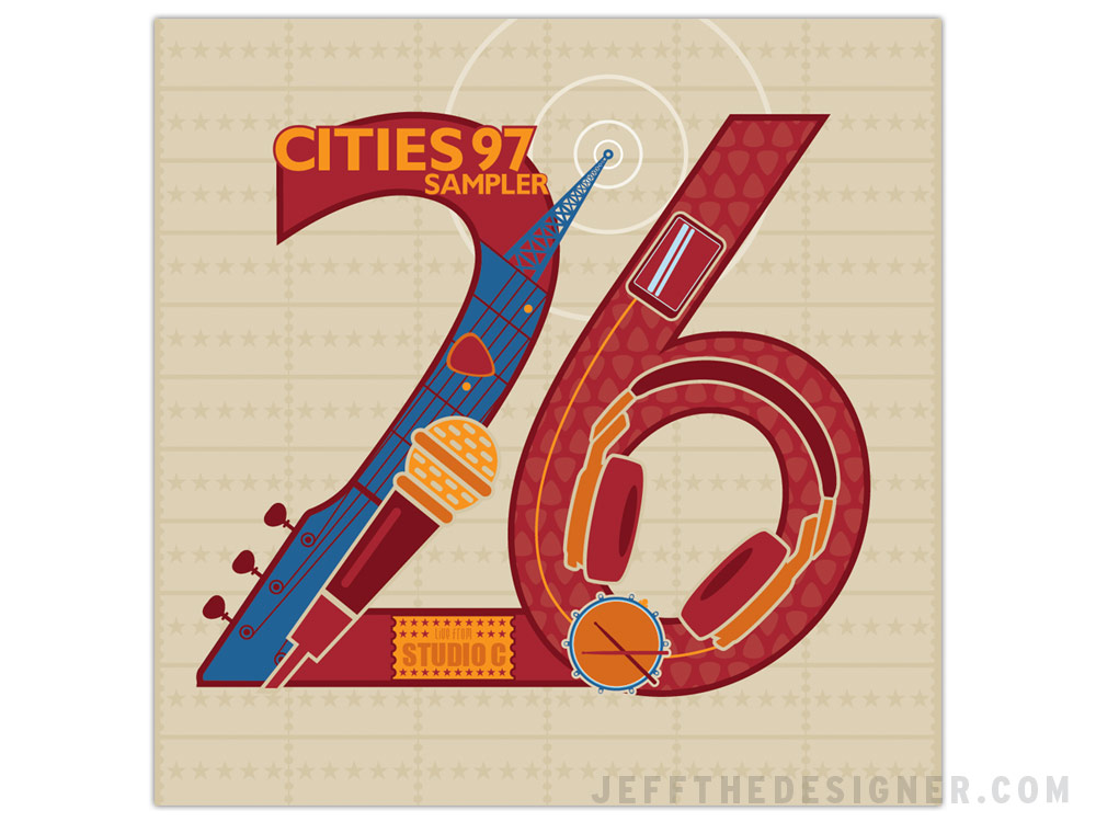 Cities 97 Vol. 26 Package Cover (Unpublished Concept)