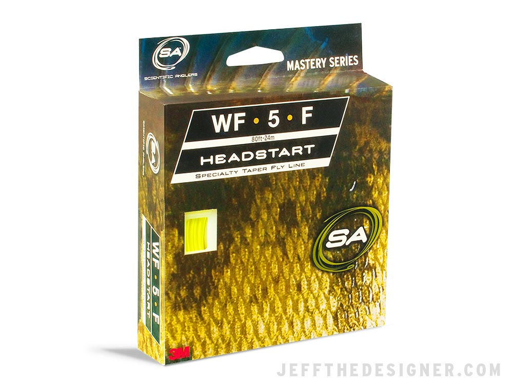 Scientific Anglers Headstart Fly Line Packaging Concept
