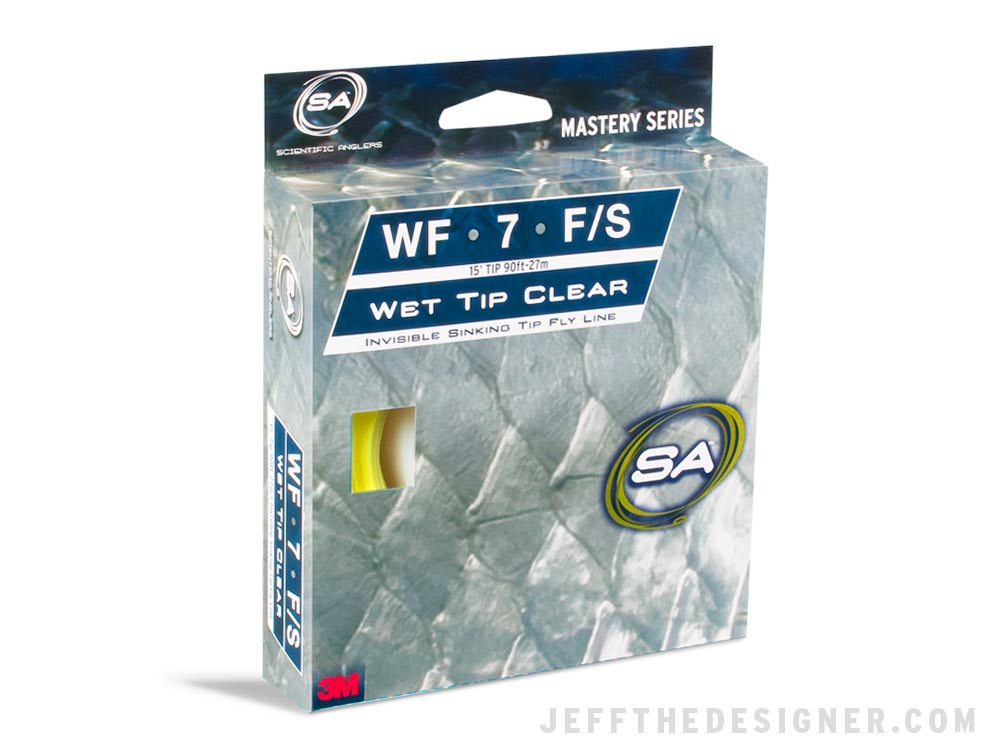 Scientific Anglers Tarpon Fly Line Packaging Concept