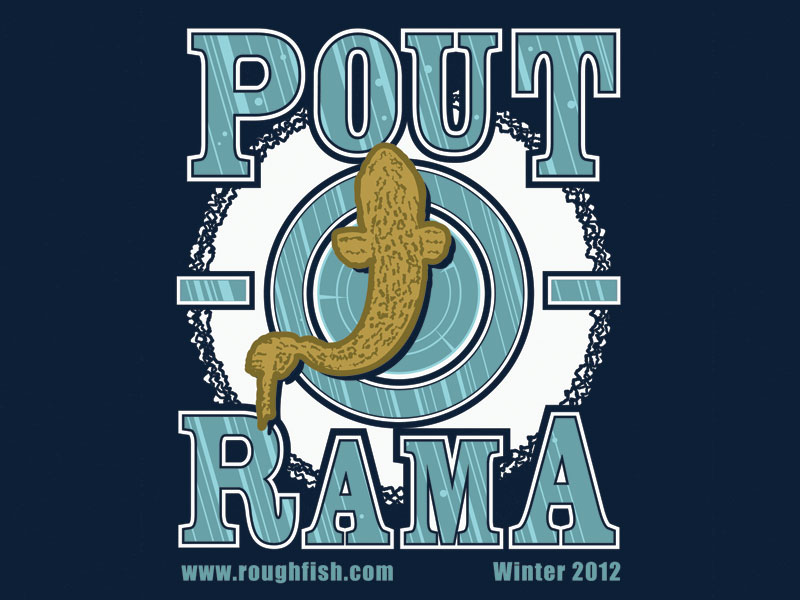 Pout-O-Rama T-Shirt Close-Up