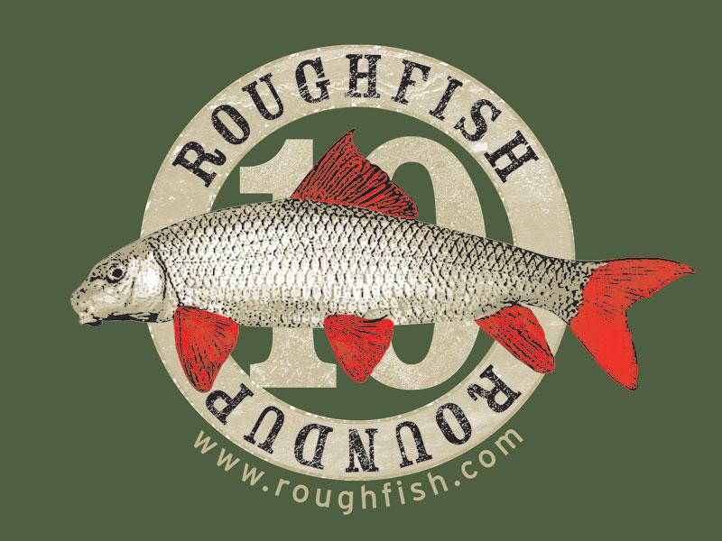 Roughfish Roundup T-Shirt Close-Up