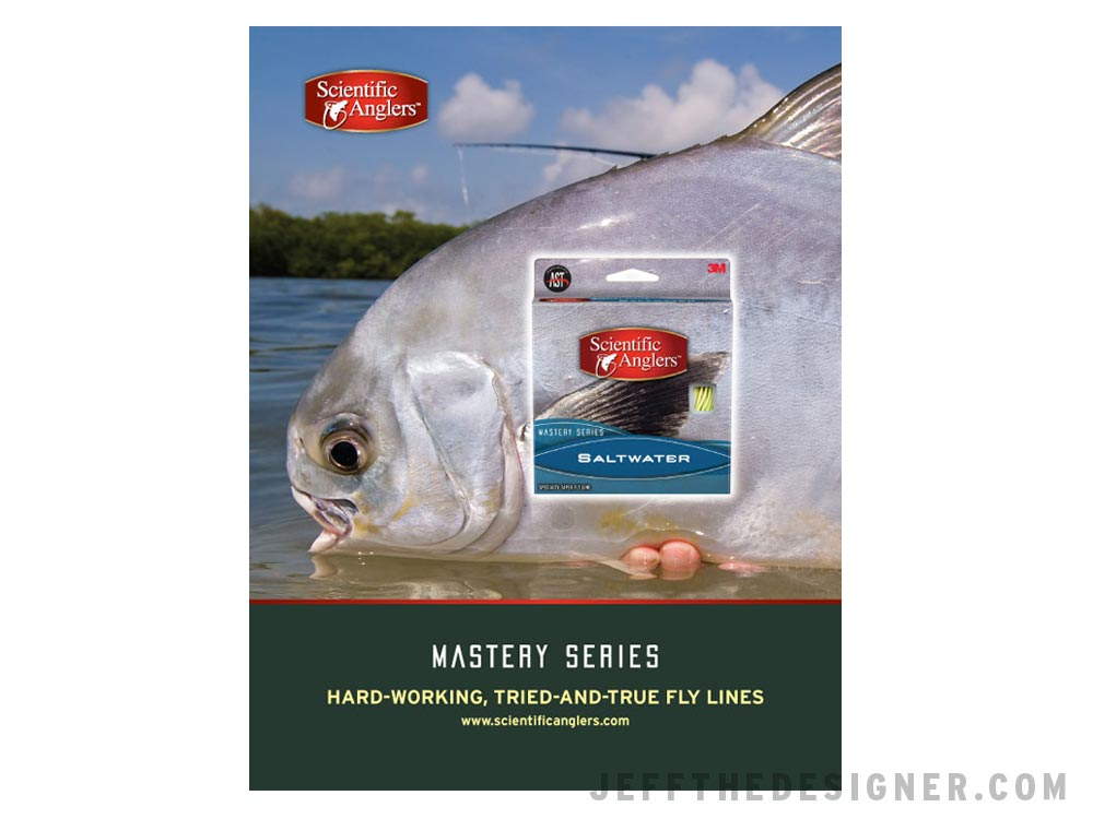 Scientific Anglers Mastery Series Saltwater Fly Line Ad