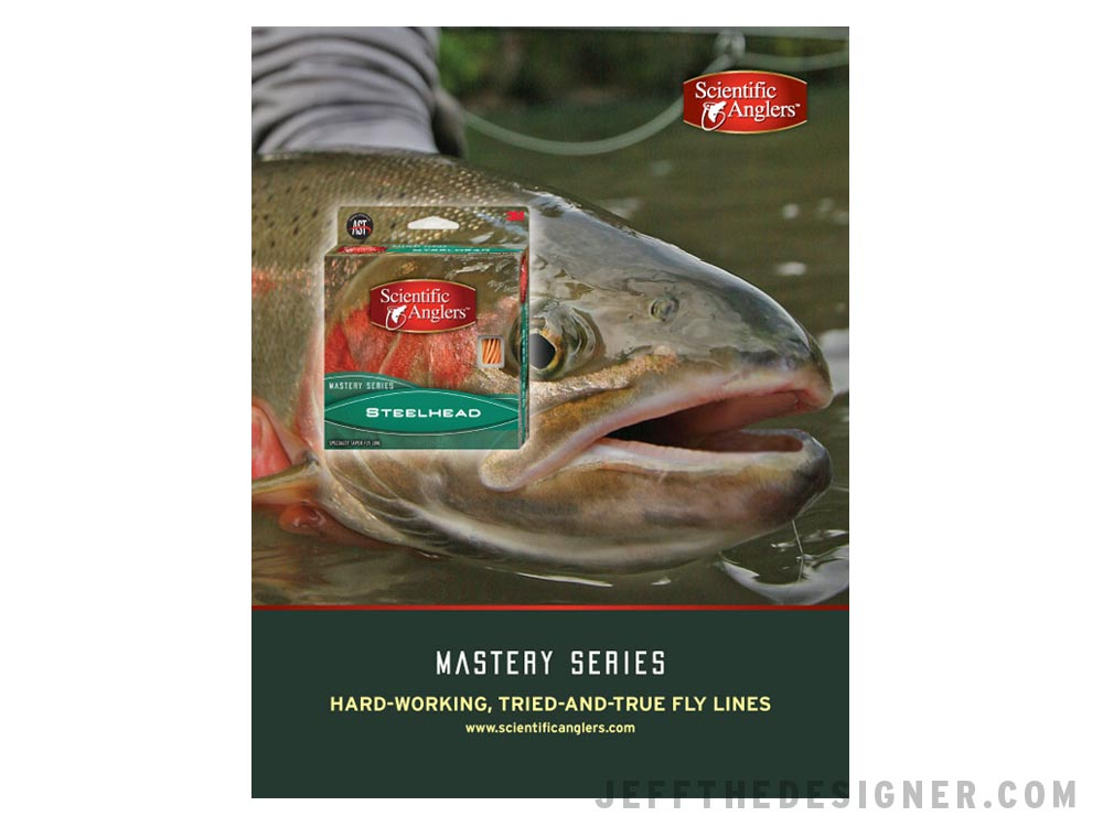 Scientific Anglers Mastery Series Steelhead Fly Line Ad