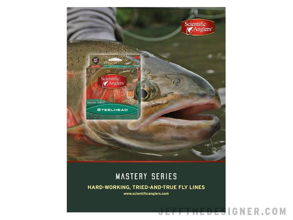 Scientific Anglers Mastery Series Steelhead Fly Line Ad