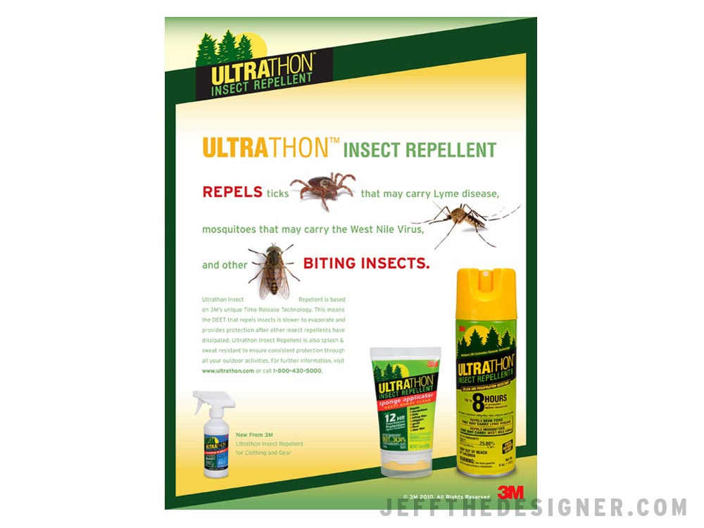 3M Ultrathon Insect Repellent Ad