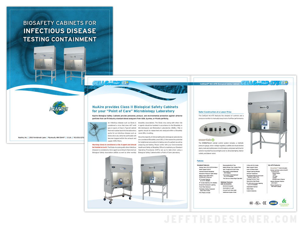 NuAire Ebola Containment Brochure