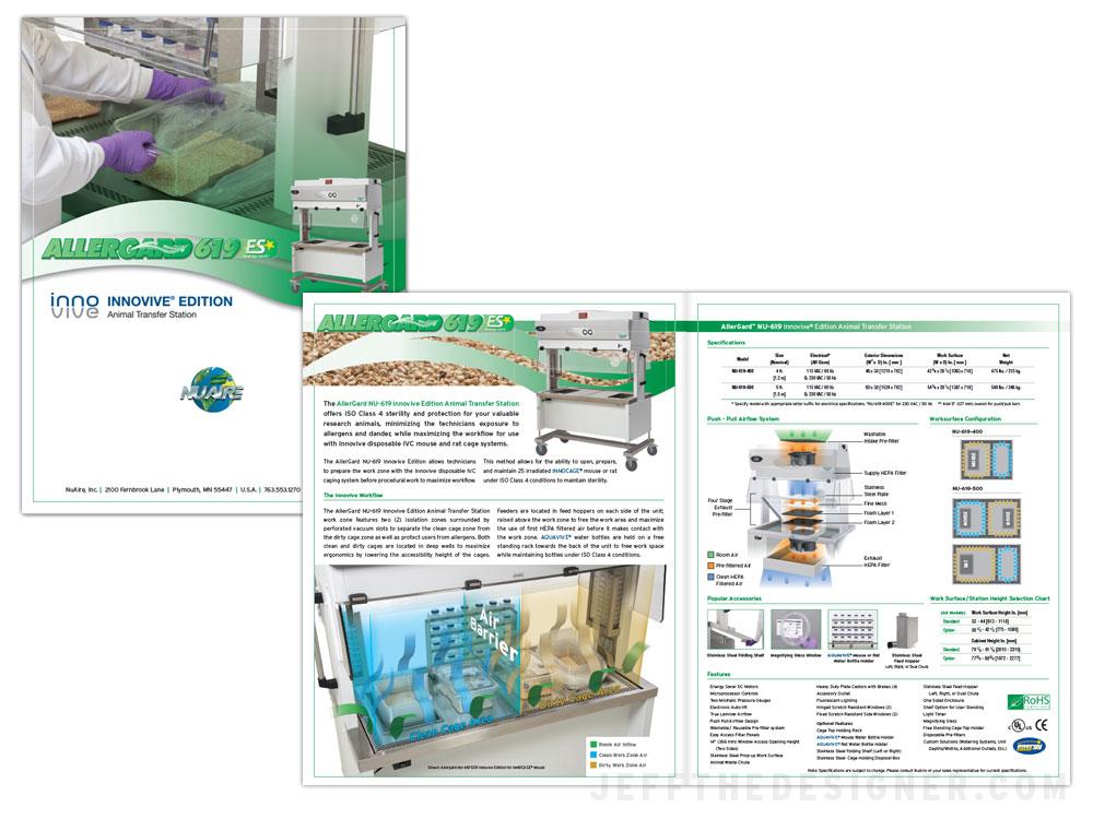 NuAire 619 Innovive Edition Brochure