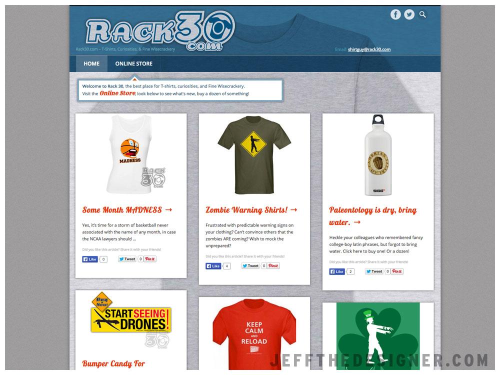 Rack30 Web Site
