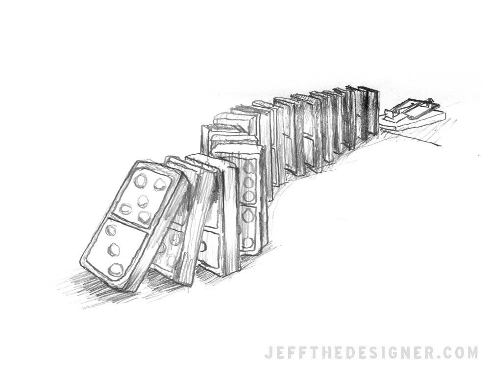 Sketchbook - Dominoes