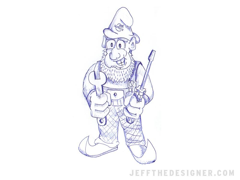 Sketchbook - Gnome!