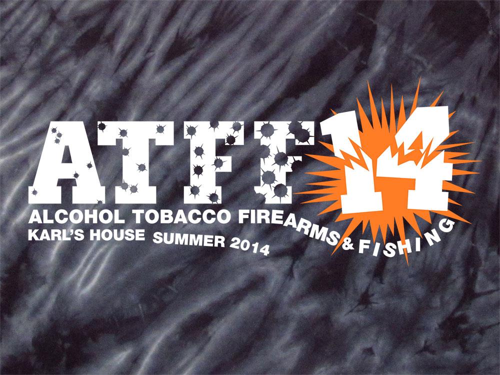 ATFF 2014 T-Shirt Close-Up