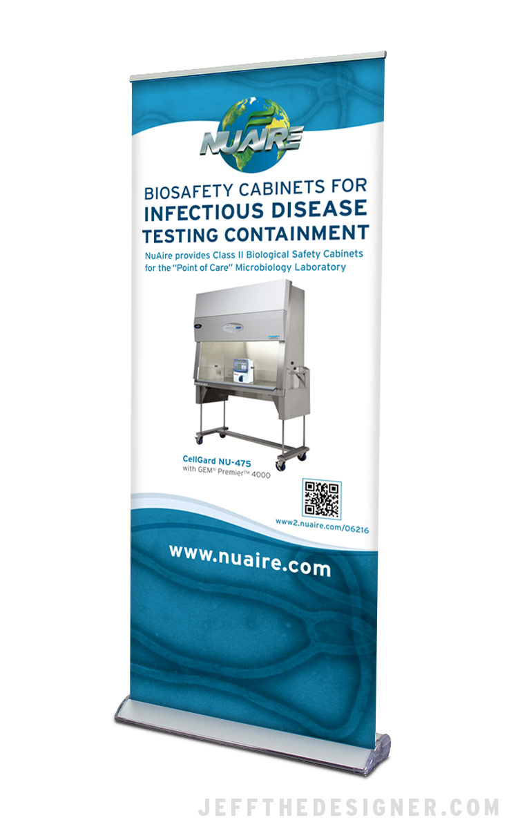 NuAire Polypropylene Products Banner