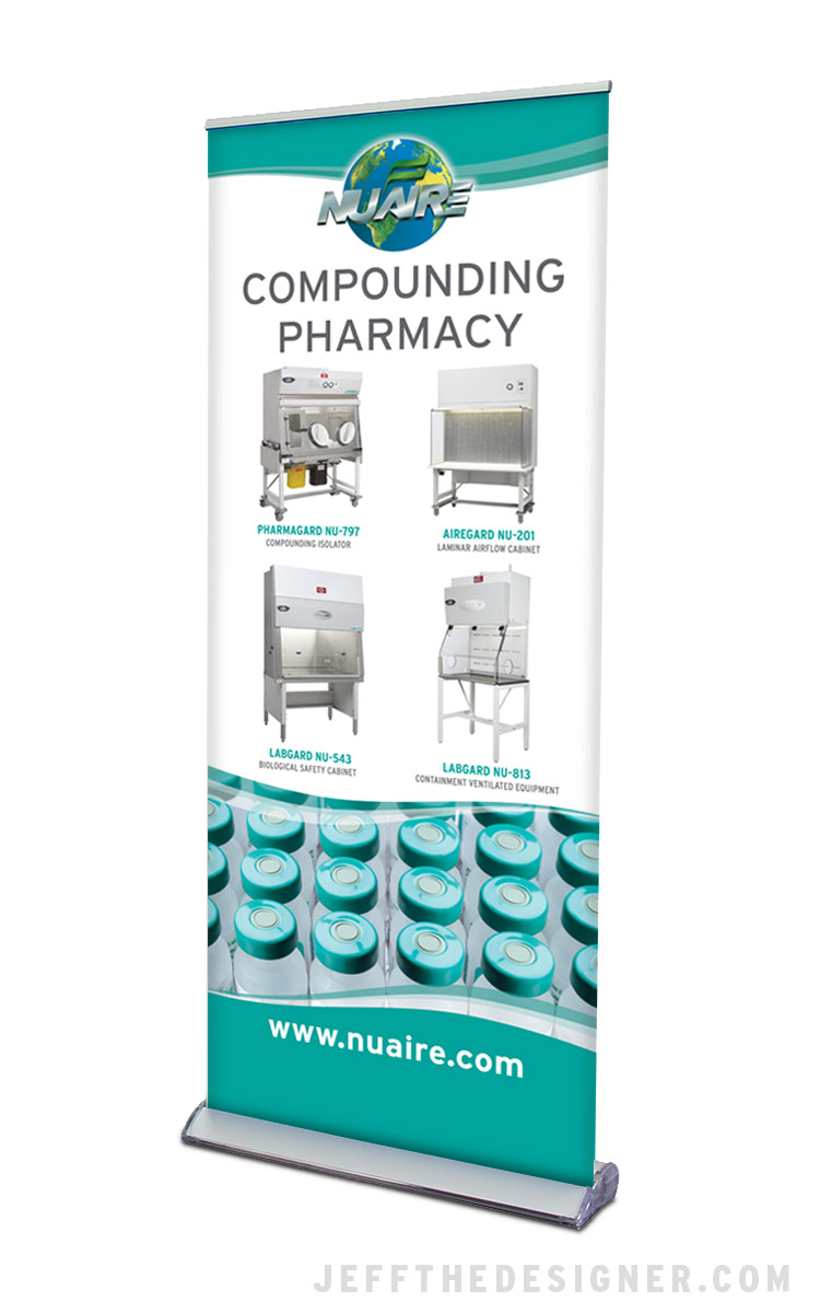 NuAire Compounding Pharmacy Banner