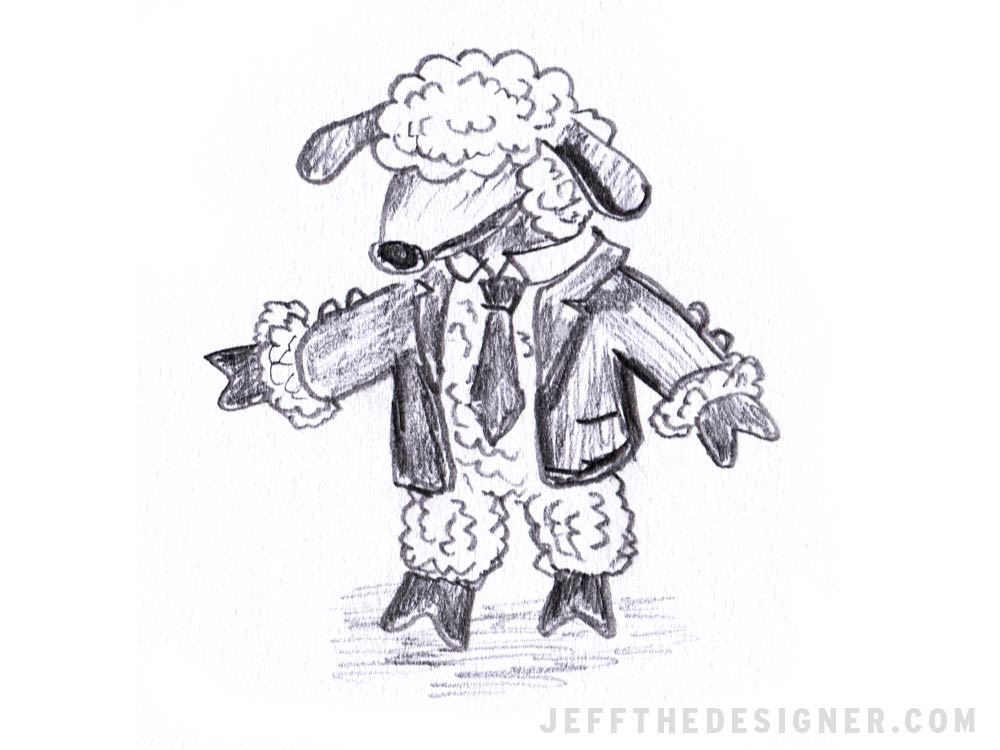 Sheep in a Suit