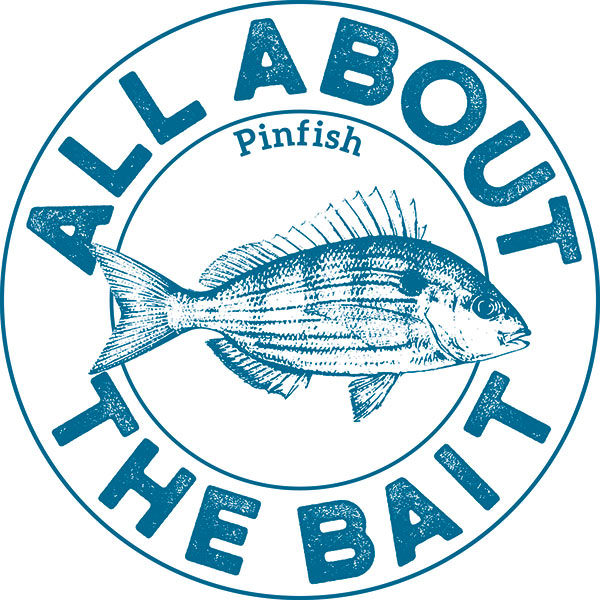 All About The Bait Pinfish Logo