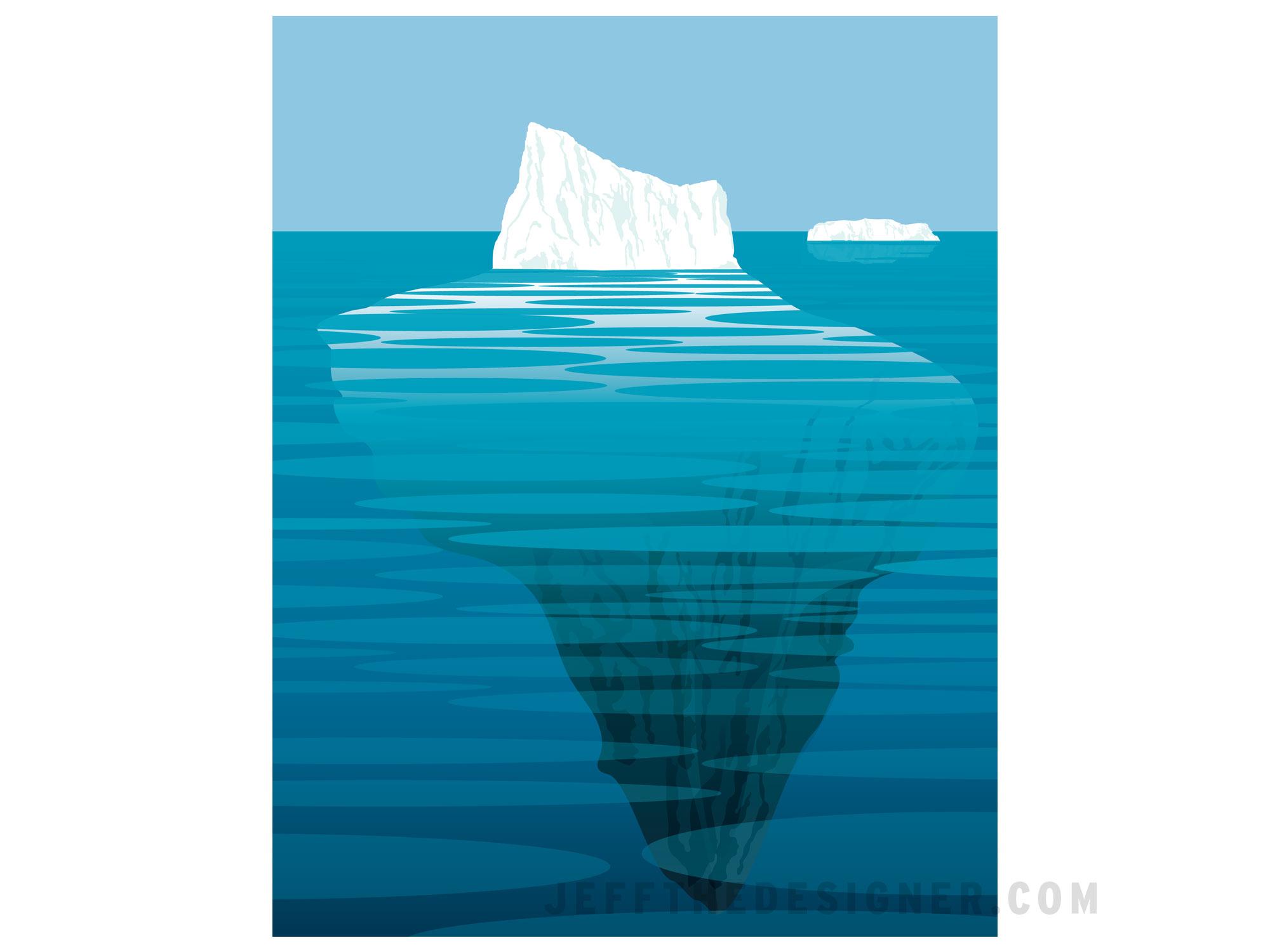 Iceberg Illustration