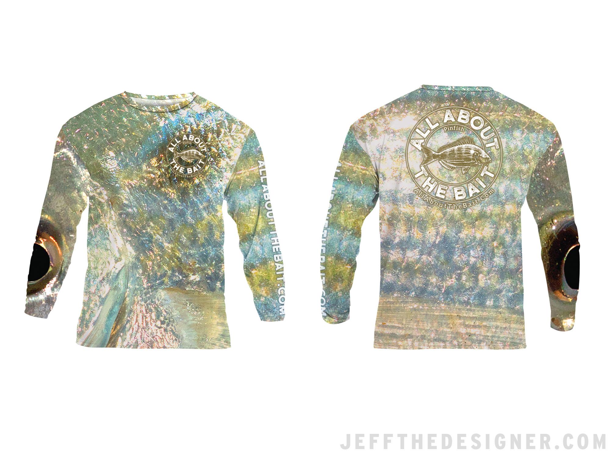 Fishing Shirt Design - Pinfish Texture