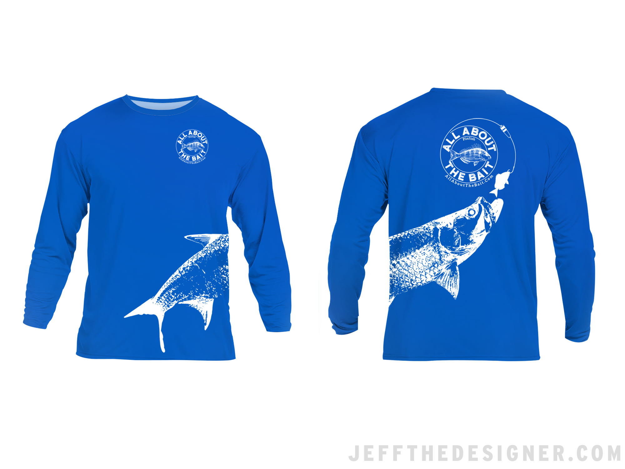 Fishing Shirt Design - Tarpon