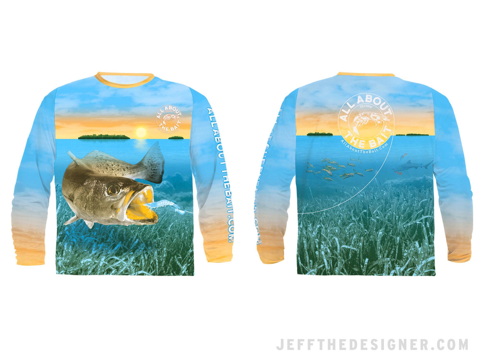 Florida Keys Speckled Trout Fishing Shirt Design