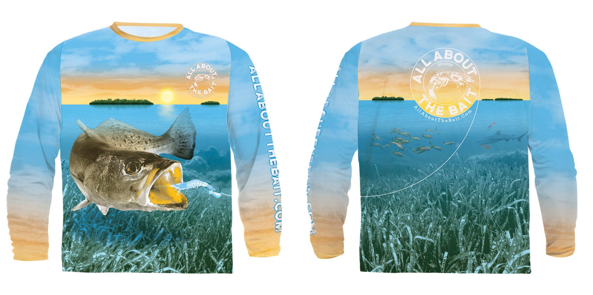 Speckled Trout UV Protection Fishing Shirt Florida Keys - jeffthedesigner.com