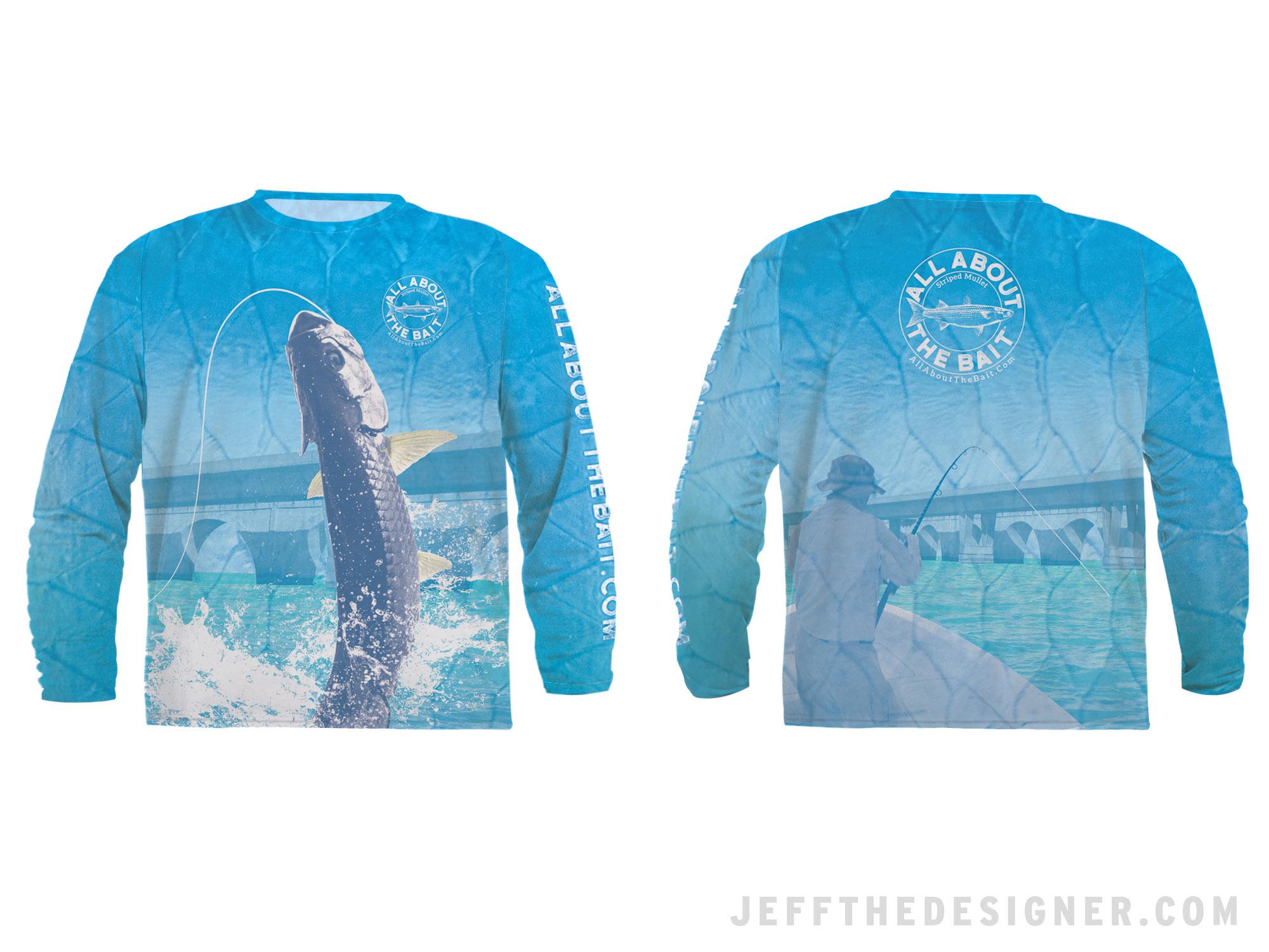 Florida Keys Tarpon Bridge Fishing Shirt Design