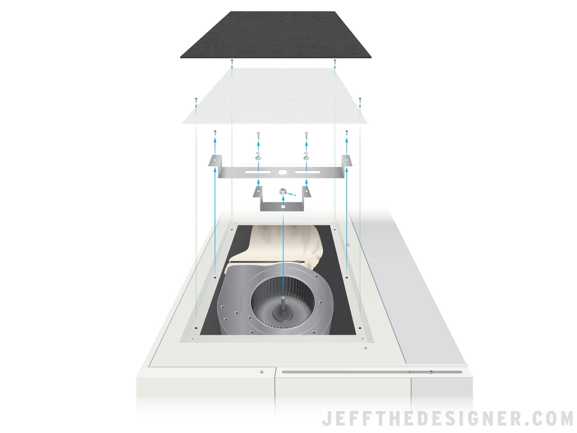 Laboratory Equipment Disassembly Illustration